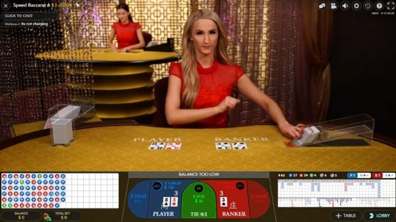1xbet baccarat